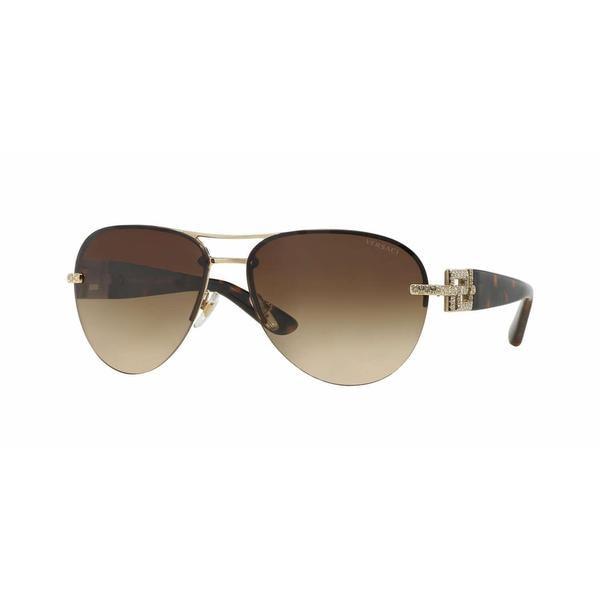 Versace VE2159B Sonnenbrille Gold und Tortoise 125213 59mm 7DiZK