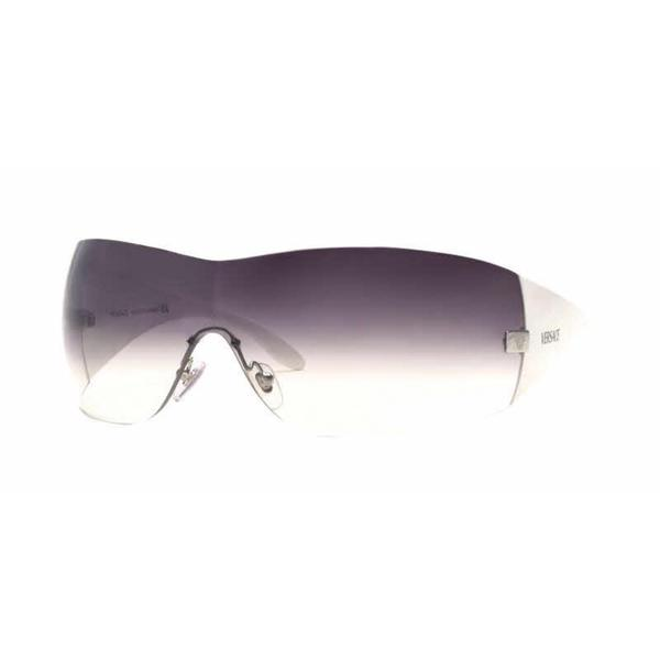 341d62b512 Shop Versace Women VE2054 10008G Grey Plastic Wrap Sunglasses - Free  Shipping Today - Overstock - 13322329