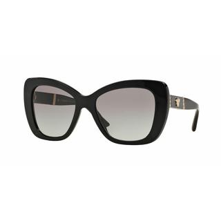 Versace Women VE4305Q GB1/11 Black Rectangle Sunglasses