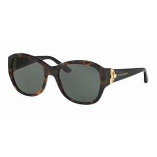 Ralph Lauren Women RL8148 501071 Havana Plastic Square Sunglasses