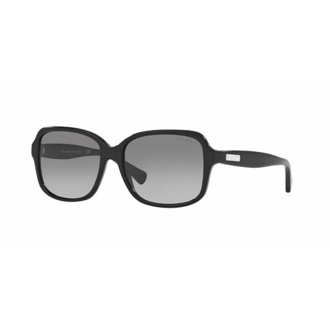 Ralph Women RA5216 137711 Black Plastic Rectangle Sunglasses