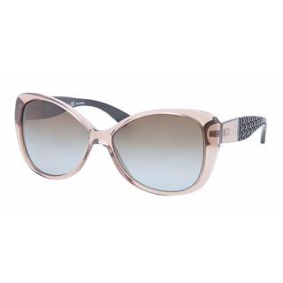 Ralph Women RA5180 1031T5 Brown Plastic Rectangle Sunglasses