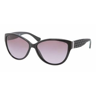 Ralph Women RA5176 501/8H Black Plastic Cat Eye Sunglasses