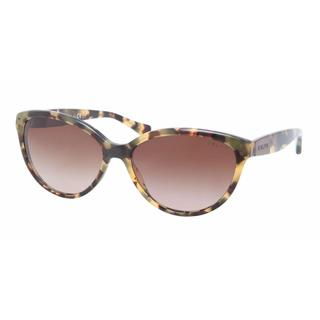 Ralph Women RA5168 905/13 Havana Plastic Cat Eye Sunglasses