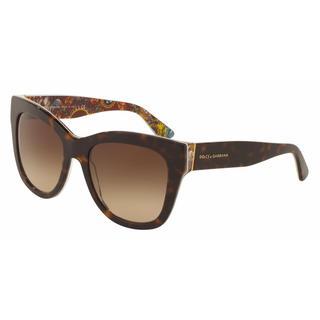 Dolce&Gabbana Women DG4270 303713 Plastic Plastic Square Sunglasses
