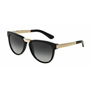 Dolce&Gabbana Women DG4257 501/8G Black Metal Square Sunglasses
