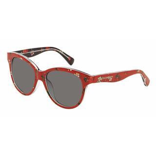 Dolce&Gabbana Women DG4176 MATT SILK 298787 Plastic Round Sunglasses