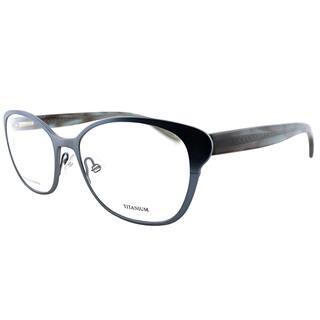 Bottega Veneta Women's BV 206 44Q Brushed Navy Titanium and Metal 53mm Cat-eye Eyeglasses https://ak1.ostkcdn.com/images/products/13324341/P20029194.jpg?impolicy=medium