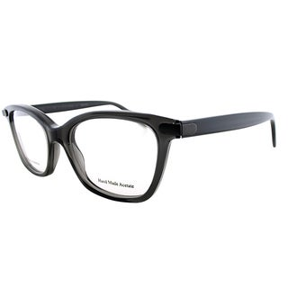 Bottega Veneta BV 223 4PY Grey Plastic Cat-Eye Eyeglasses 50mm