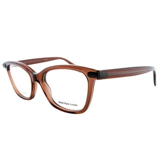 Bottega Veneta BV 223 KB8 Brown Plastic 50mm Cat-eye Eyeglasses
