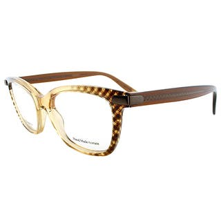 Bottega Veneta BV 223 SJ9 Amber Plastic 50-millimeter Cat-eye Eyeglasses https://ak1.ostkcdn.com/images/products/13324346/P20029198.jpg?impolicy=medium