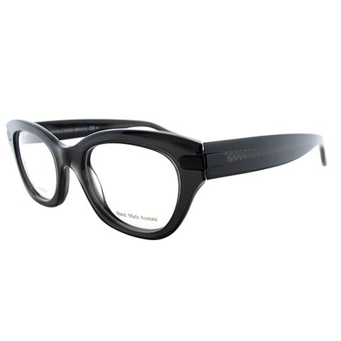Bottega Veneta BV 234 4PY Grey Plastic 48-millmeter Cat-eye Eyeglasses