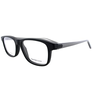 Bottega Veneta BV 240 F16 Matte Black Plastic Rectangle Eyeglasses 52mm