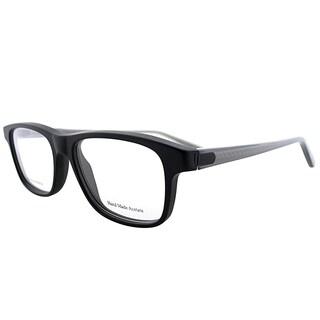 Bottega Veneta BV 240 F16 Matte Black Plastic Rectangle Eyeglasses 52mm