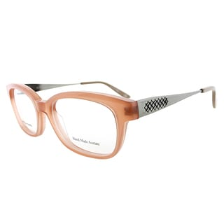Bottega Veneta BV 243 F2D Pink Plastic 50mm Rectangular Eyeglasses