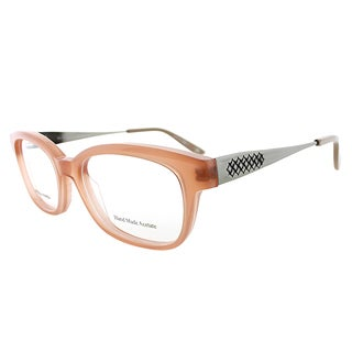 Bottega Veneta BV 243 F2D Pink Plastic 50mm Rectangular Eyeglasses