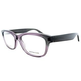 Bottega Veneta Purple Rectangular Eyeglasses (53mm)
