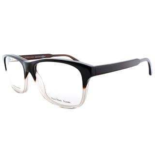 Bottega Veneta Black Gradient Plastic 54-millimeter Rectangle Eyeglasses