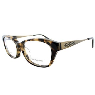 Bottega Veneta BV 6028/J 3ZC Light Havana Plastic 53mm Rectangular Eyeglasses