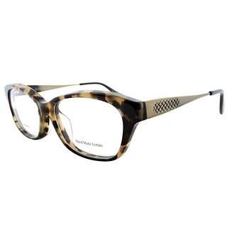 Bottega Veneta BV 6028/J 3ZC Light Havana Plastic 53mm Rectangular Eyeglasses