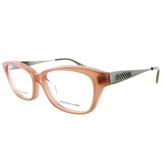 Bottega Veneta BV 6028/J F2D Pink Plastic 53mm Rectangular Eyeglasses