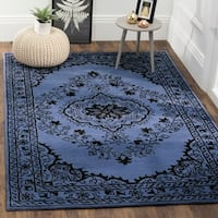Safavieh Handmade Glamour Contemporary Bohemian Purple Viscose Rug - 8' x 10'