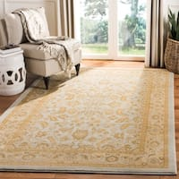Safavieh Austin Traditional Light Blue/ Gold Rug - 8' x 11'