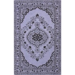 Safavieh Handmade Glamour Contemporary Bohemian Purple Viscose Rug (2' x 3')
