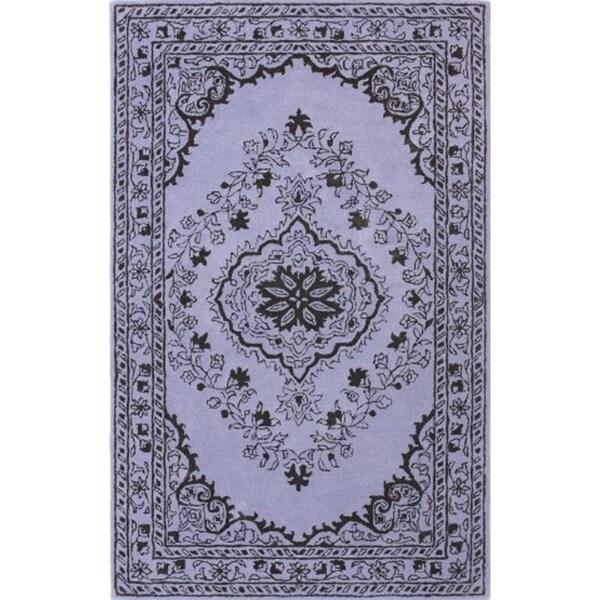 Purple Viscose Rug: Shop Safavieh Handmade Glamour Contemporary Bohemian