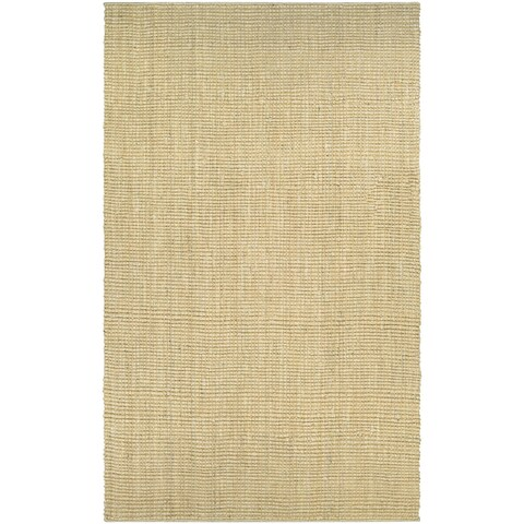 "Couristan Ambary Grasscloth/Sand Area Rug - 3'5"" x 5'5"""