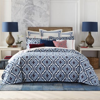 Tommy Hilfiger Ellis Island Cotton 3 Piece Comforter Set