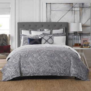 Tommy Hilfiger Josephine Paisley Cotton 3 Piece Comforter Set