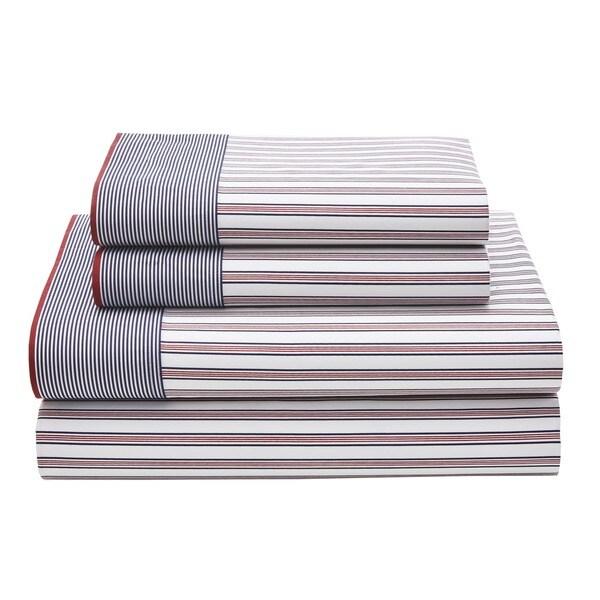 Ellington Stripe Cotton Rich Sheet Set