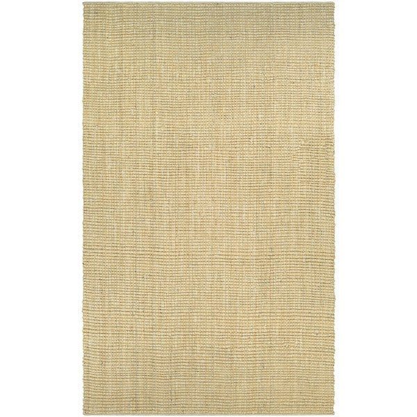 """Couristan Ambary Grasscloth Sand Handcrafted Area Rug - 7'10"""" x 10'10"""""""