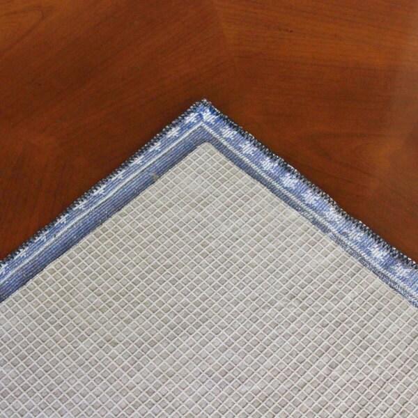 "ThinGrip 1/8 Thick Non-Slip Cushioned Felt & Rubber Rug Pad (7'6"" x 9'6) - 8'/8' X 11'/8' x 9'"