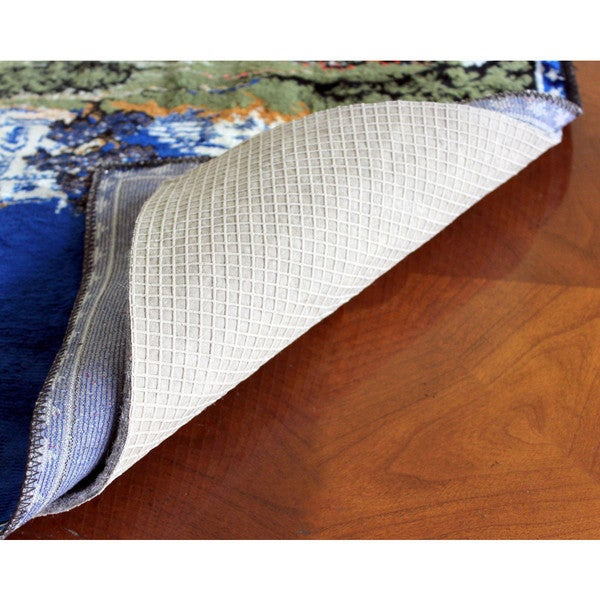 """GripSoft 1/4"""" Thick Non-Slip Cushioned Felt & Rubber Rug Pad (2' x 12')"""