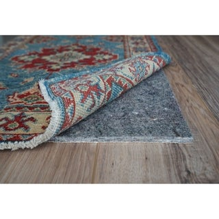 """GripSoft 1/4"""" Thick Non-Slip Cushioned Felt Rubber Rug Pad (8' Round) - 7' x 8'/8'/8' x 9'"""