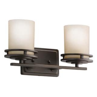 Kichler Lighting Hendrik Collection 2-light Olde Bronze Bath/Vanity Light