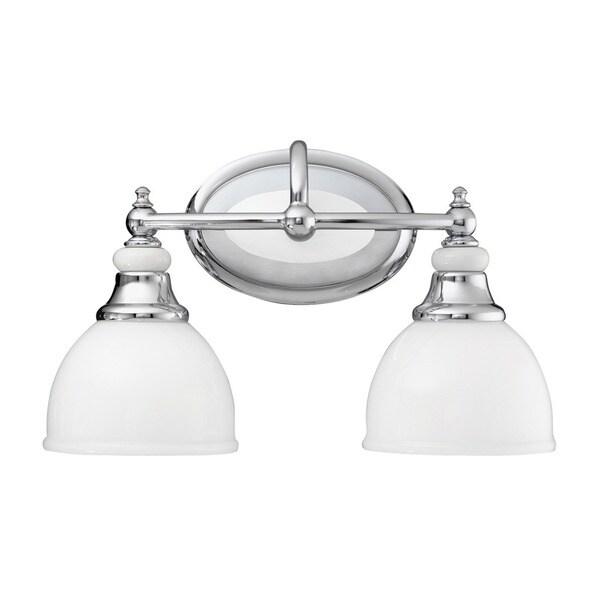 Kichler Fixtures: Shop Kichler Lighting Pocelona Collection 2-light Chrome