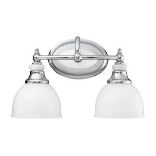 Kichler Lighting Pocelona Collection 2-light Chrome Bath/Vanity Light