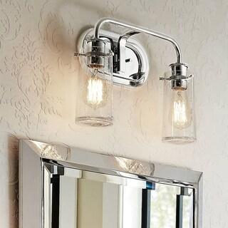 Kichler Braelyn 2-light Chrome Bath/Vanity Light
