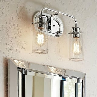 Superior Kichler Lighting Braelyn Collection 2 Light Chrome Bath/Vanity Light