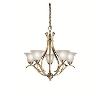 Kichler Lighting Dover Collection 5-light Antique Brass Chandelier