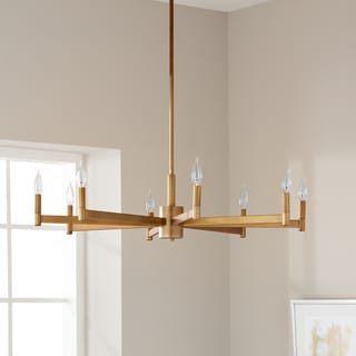 Kichler Lighting Erzo Collection 8-light Natural Brass Chandelier