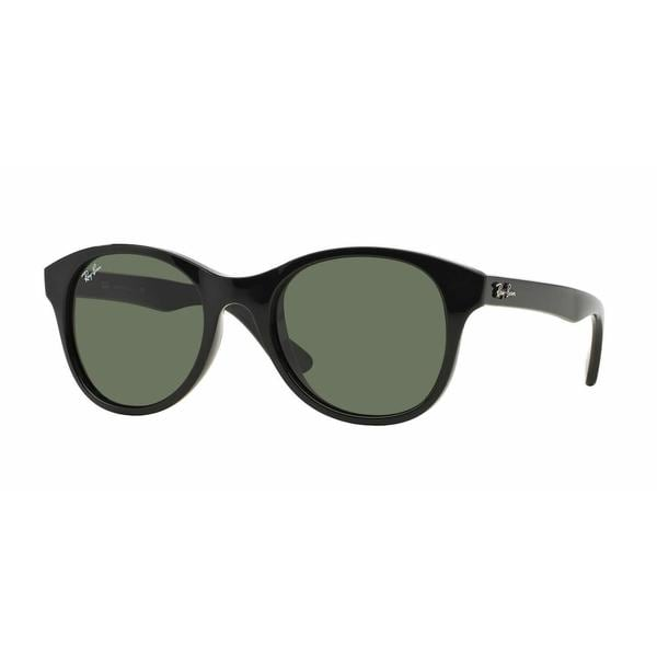 245a87de10 Shop Ray Ban Women RB4203 601 Black Plastic Round Sunglasses - Free  Shipping Today - Overstock.com - 13325396