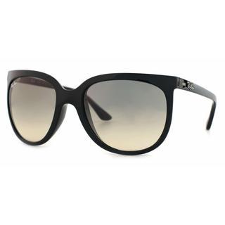 Ray Ban Women RB4126 CATS 1000 601/32 Black Plastic Cat Eye Sunglasses