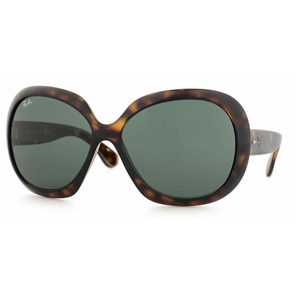 c1171329981 Ray Ban Women RB4098 JACKIE OHH II 710 71 Havana Plastic Rectangle  Sunglasses