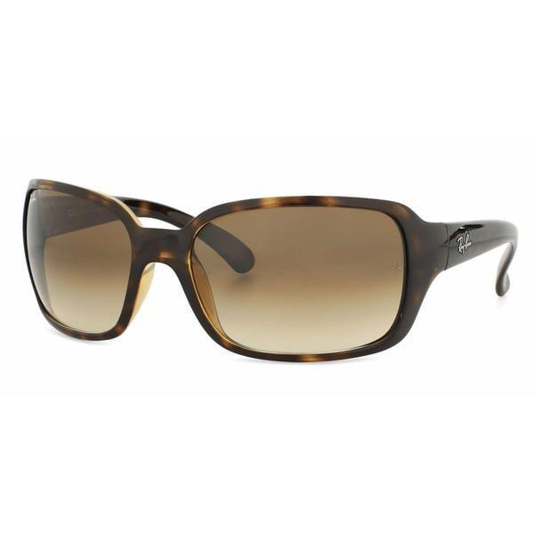 cfd40c07bd Shop Ray Ban Women RB4068 710 51 Havana Plastic Square Sunglasses ...
