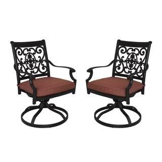 St Cruz Aluminum Chairs (Set of 2)
