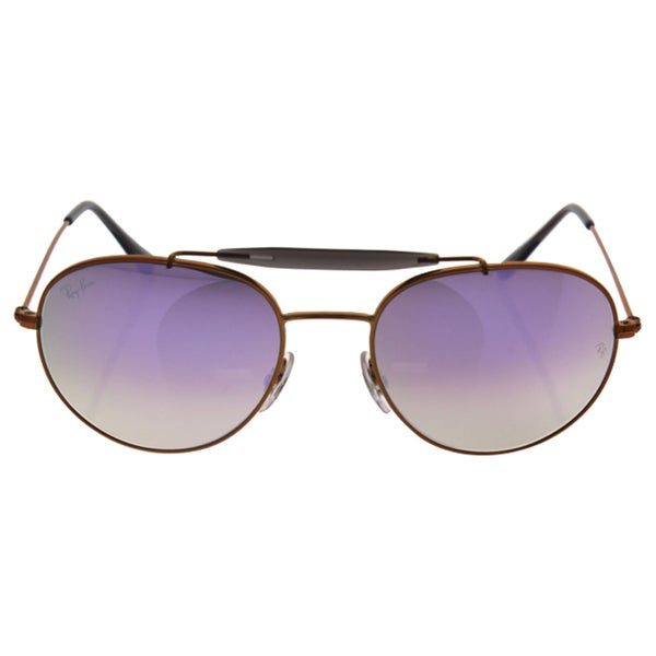 db322bd506 Ray Ban Women RB3540 198 7X Bronze Copper Metal Phantos Sunglasses
